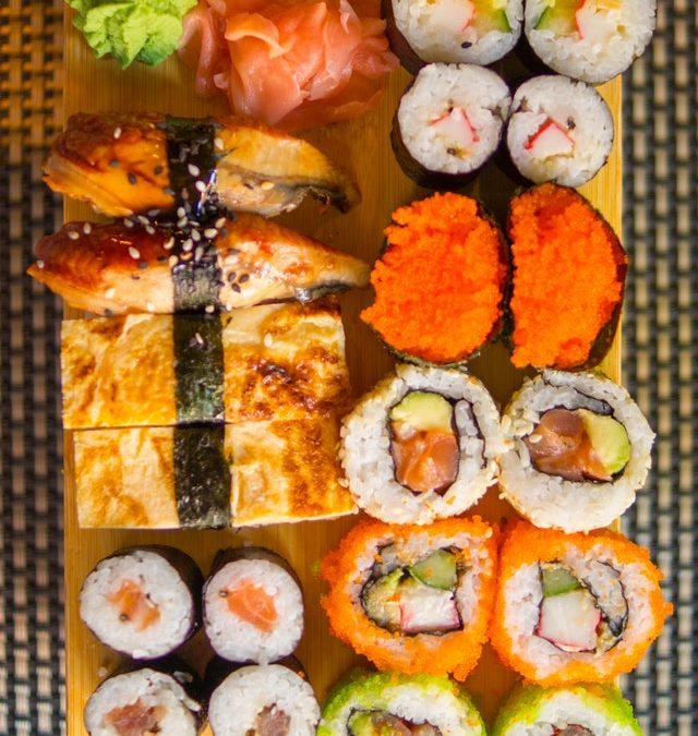 Zelf sushi bereiden